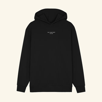 drôle de monsieur not from paris madame hoodie - black