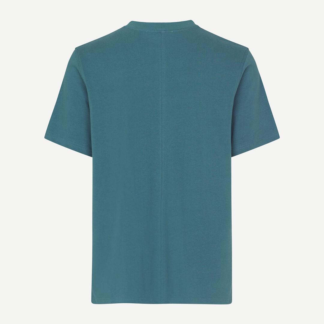samsoe samsoe norsbro 6024 tshirt - orion blue