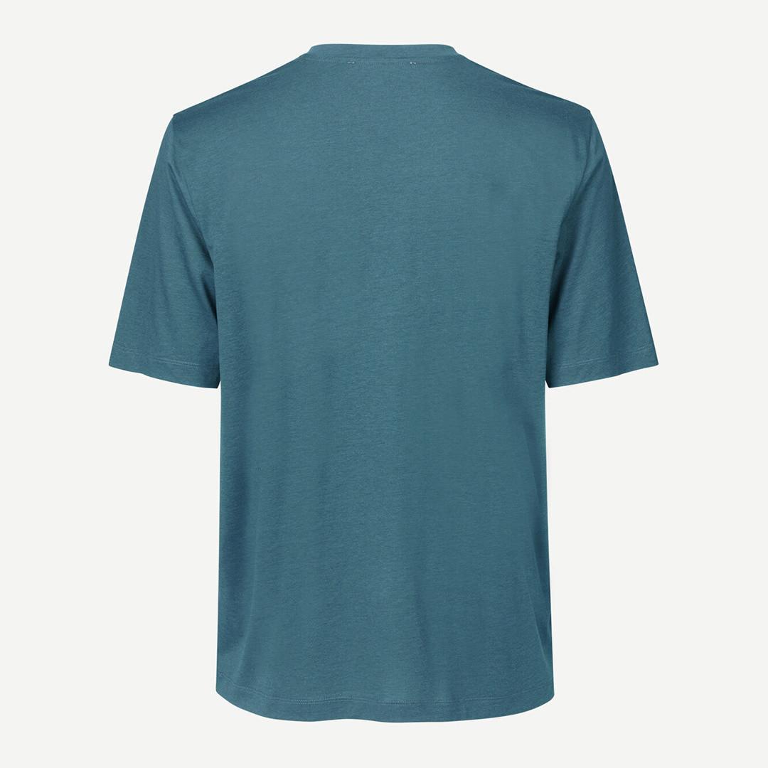 samsoe samsoe toke 11069 tshirt - orion blue
