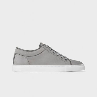 etq amsterdam lt01. nubuck leather sneaker - alloy
