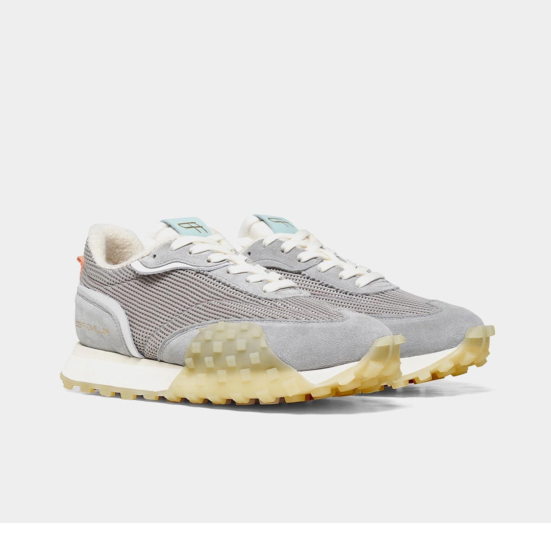 filling pieces crease runner - wind grey