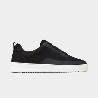 filling pieces mondo 2.0 ripple sneaker - steam black