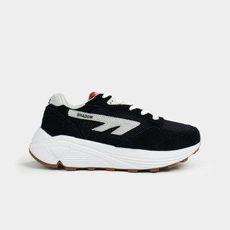hts74 hi-tec hts74 shadow rgs - shoe black white red
