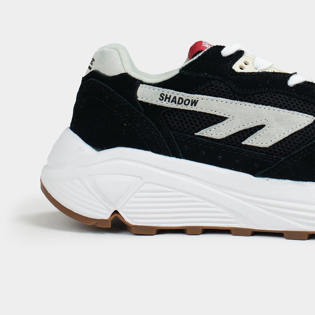 hts74 hi-tec hts shadow rgs - shoe black white red