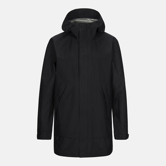 peak performance light pac parka - black