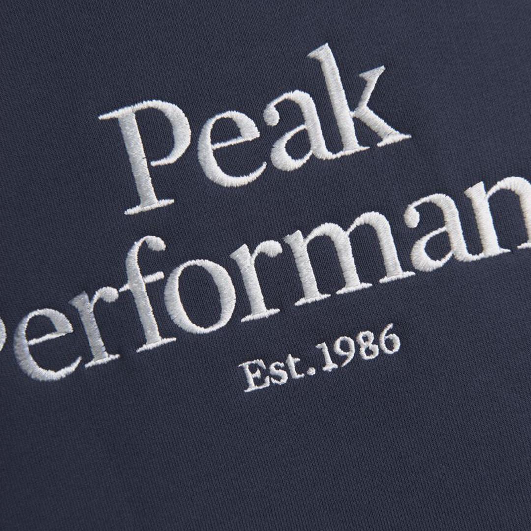 peak performance original hoodie - blue shadow