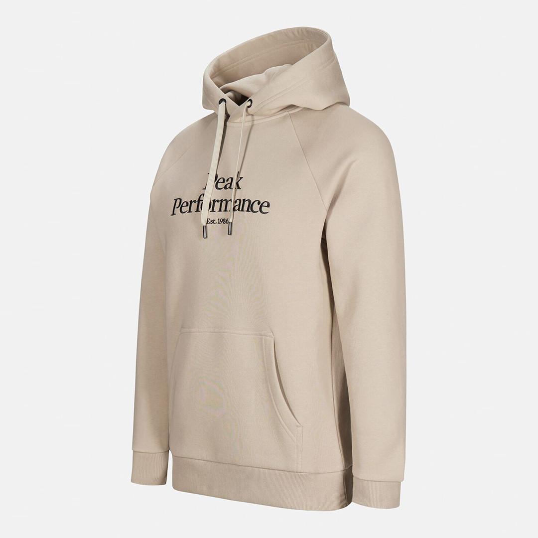 peak performance original hoodie - celsian beige