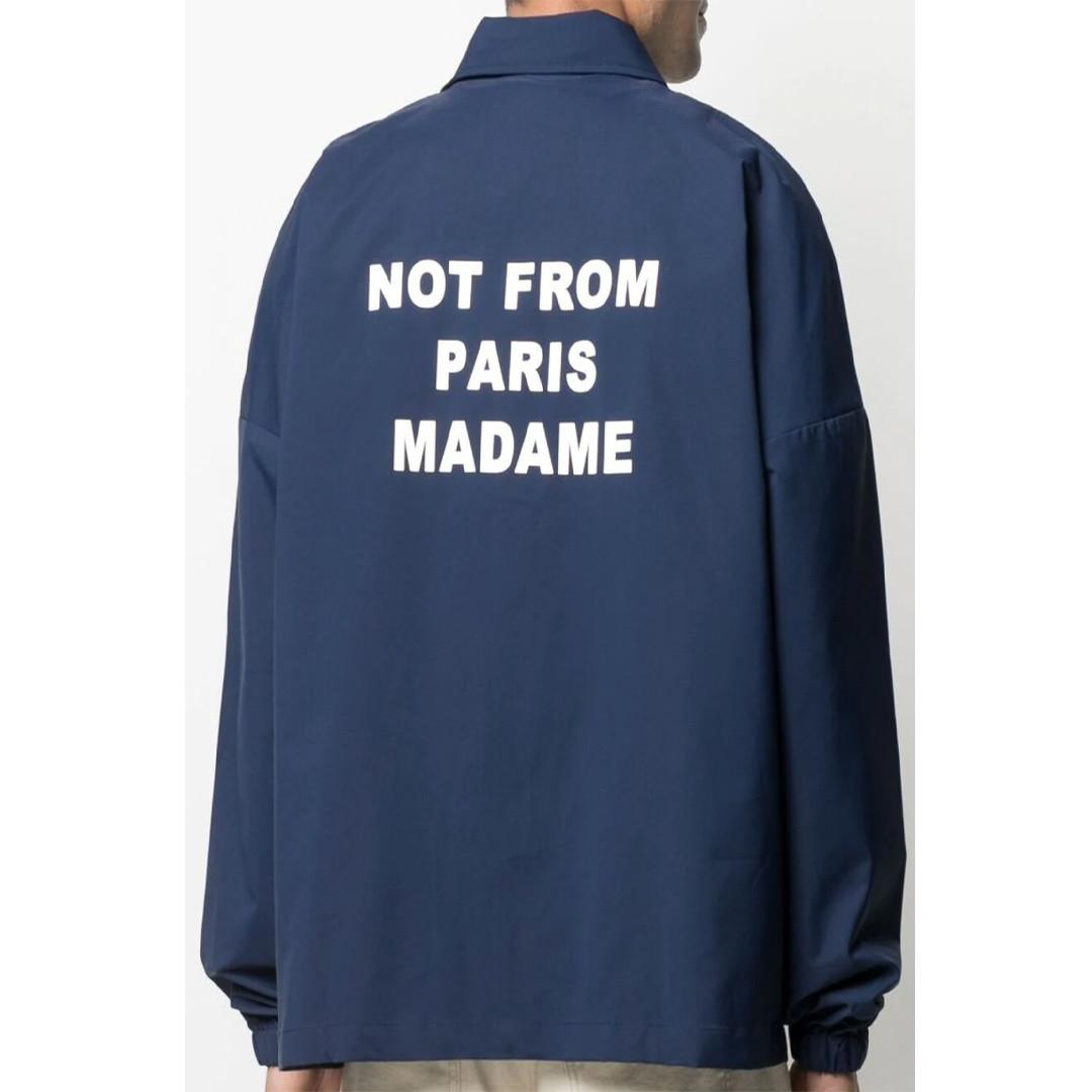 drôle de monsieur nfpm jacket - navy