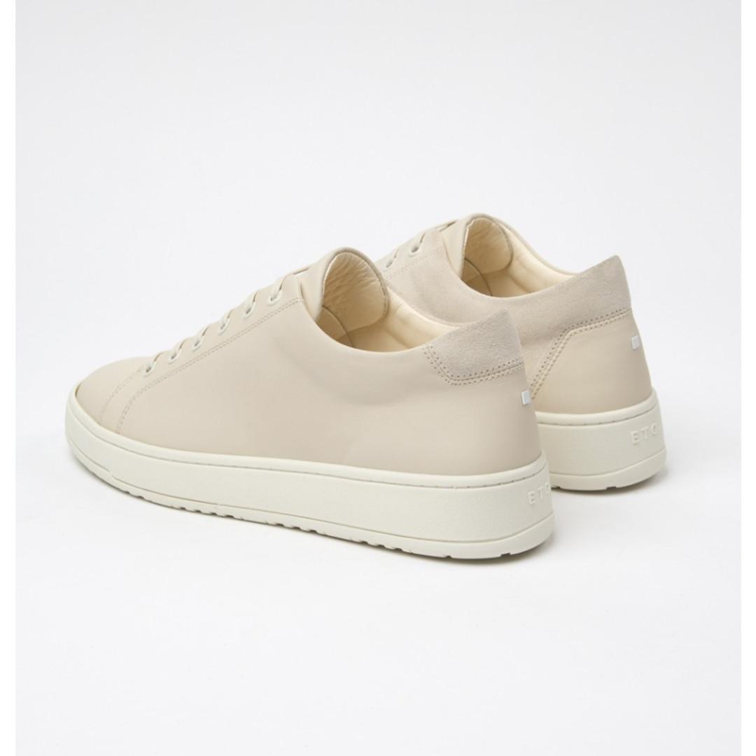 etq amsterdam LT.01 court lite nappa sneaker - off white