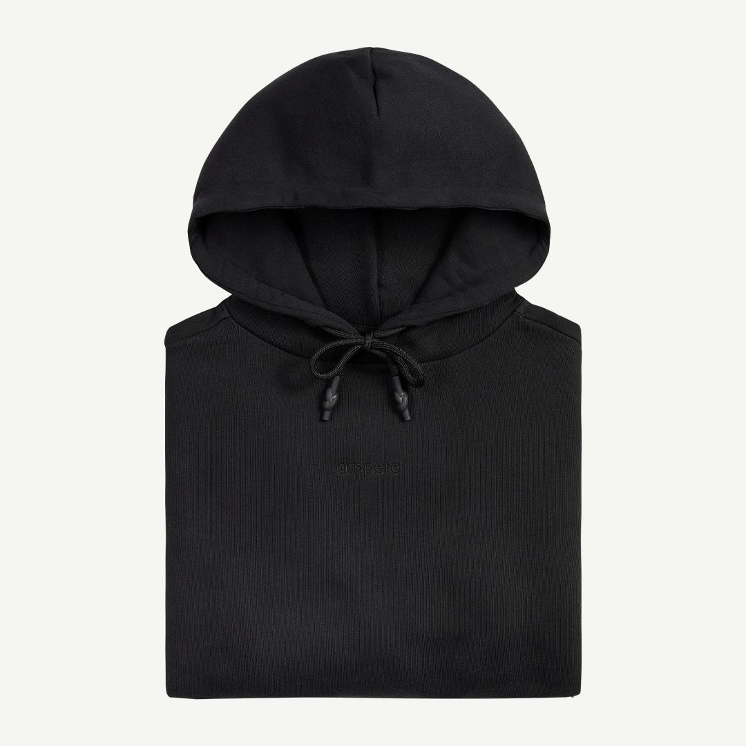 ampère samuel I am hoodie - black