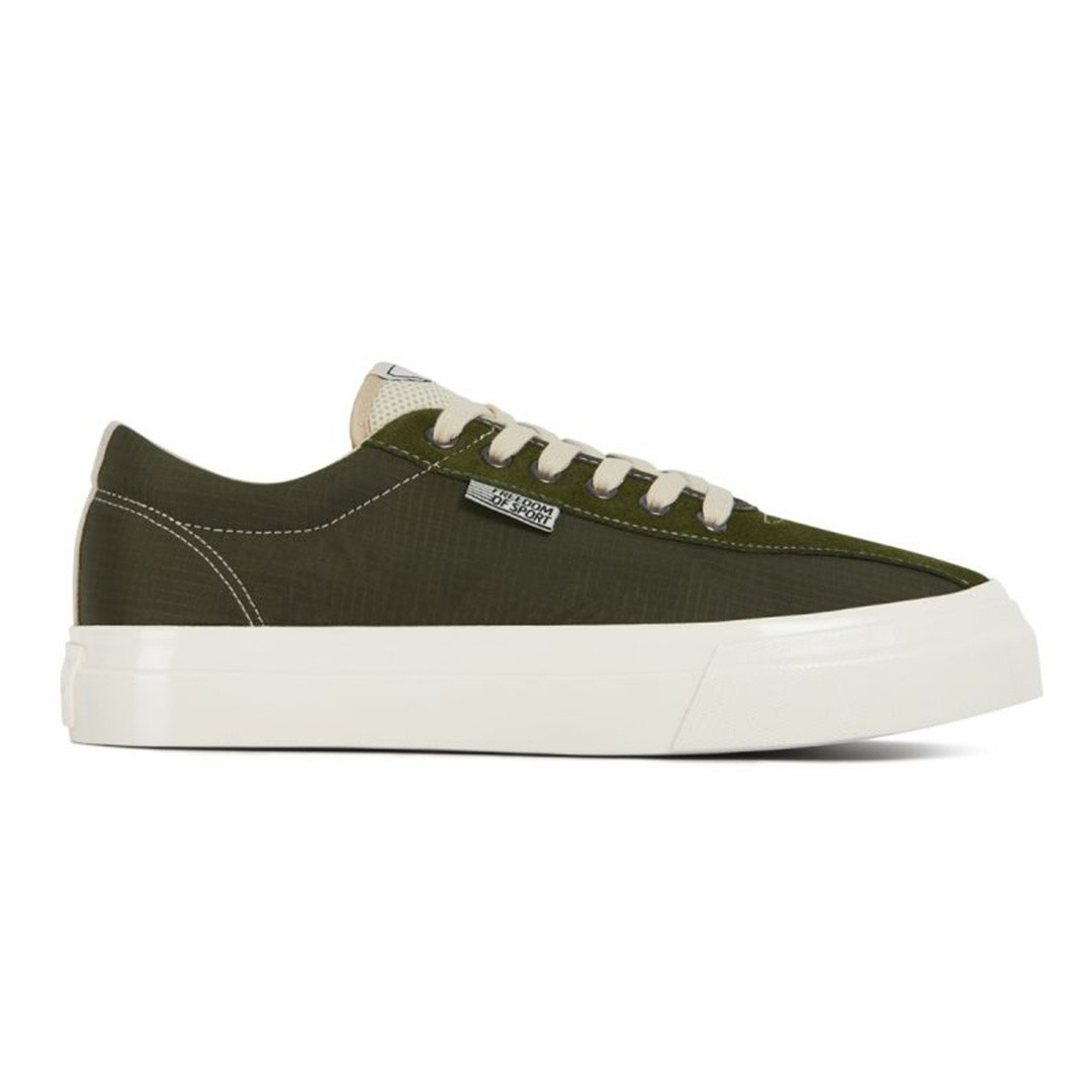 stepney workers club dellow track nylon shoe - olive