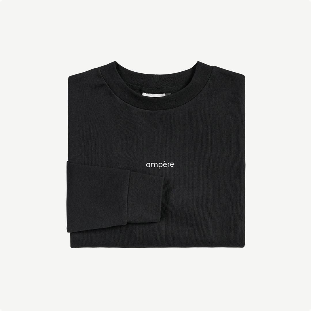 ampère henri you are long sleeve - black