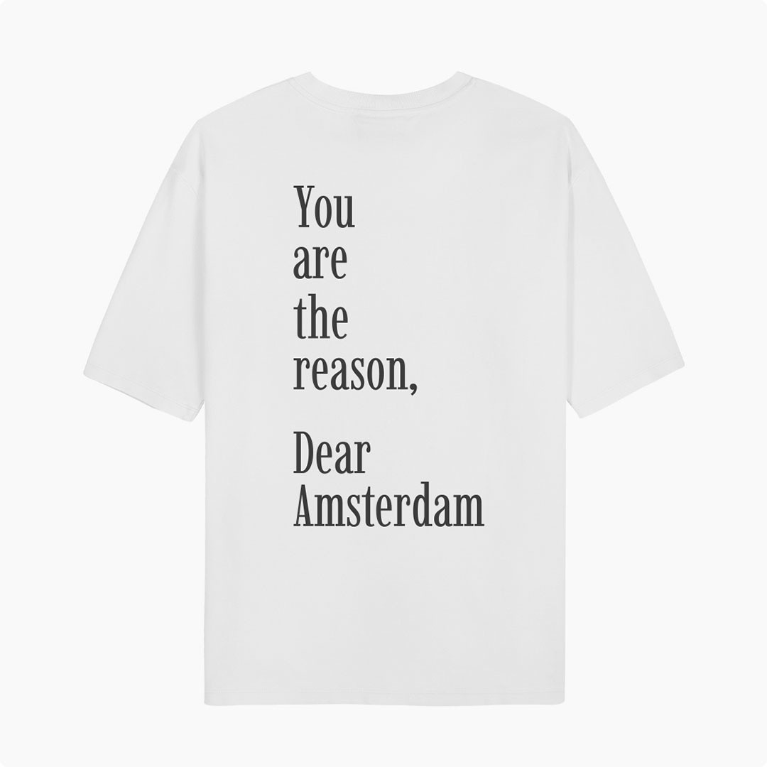 ampère august you are tee - white