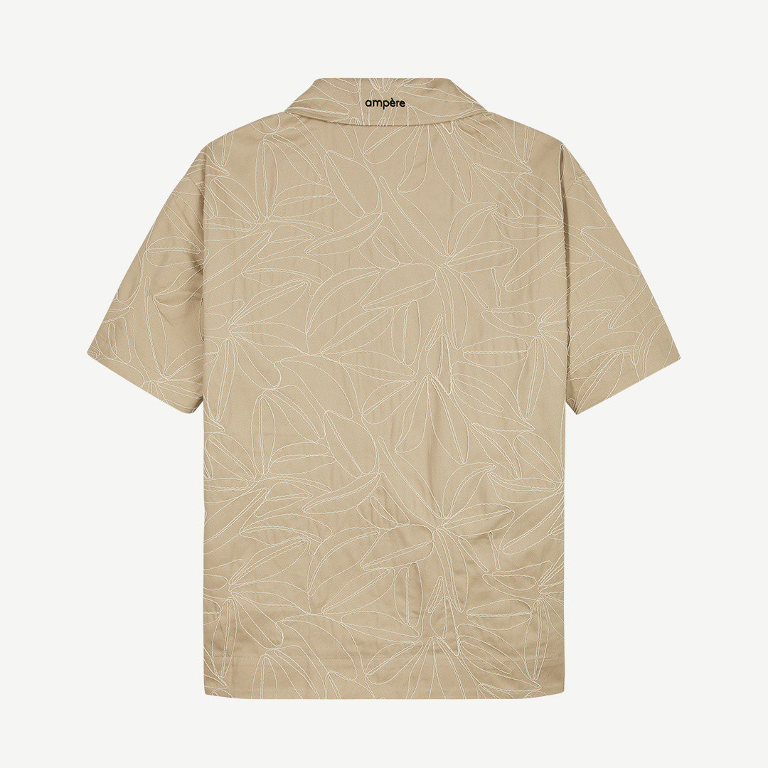 ampère benno ss shirt - sand
