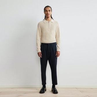nn07 bill 1684 pants - navy blue