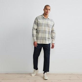 nn07 deon 5219 western shirt - khaki check