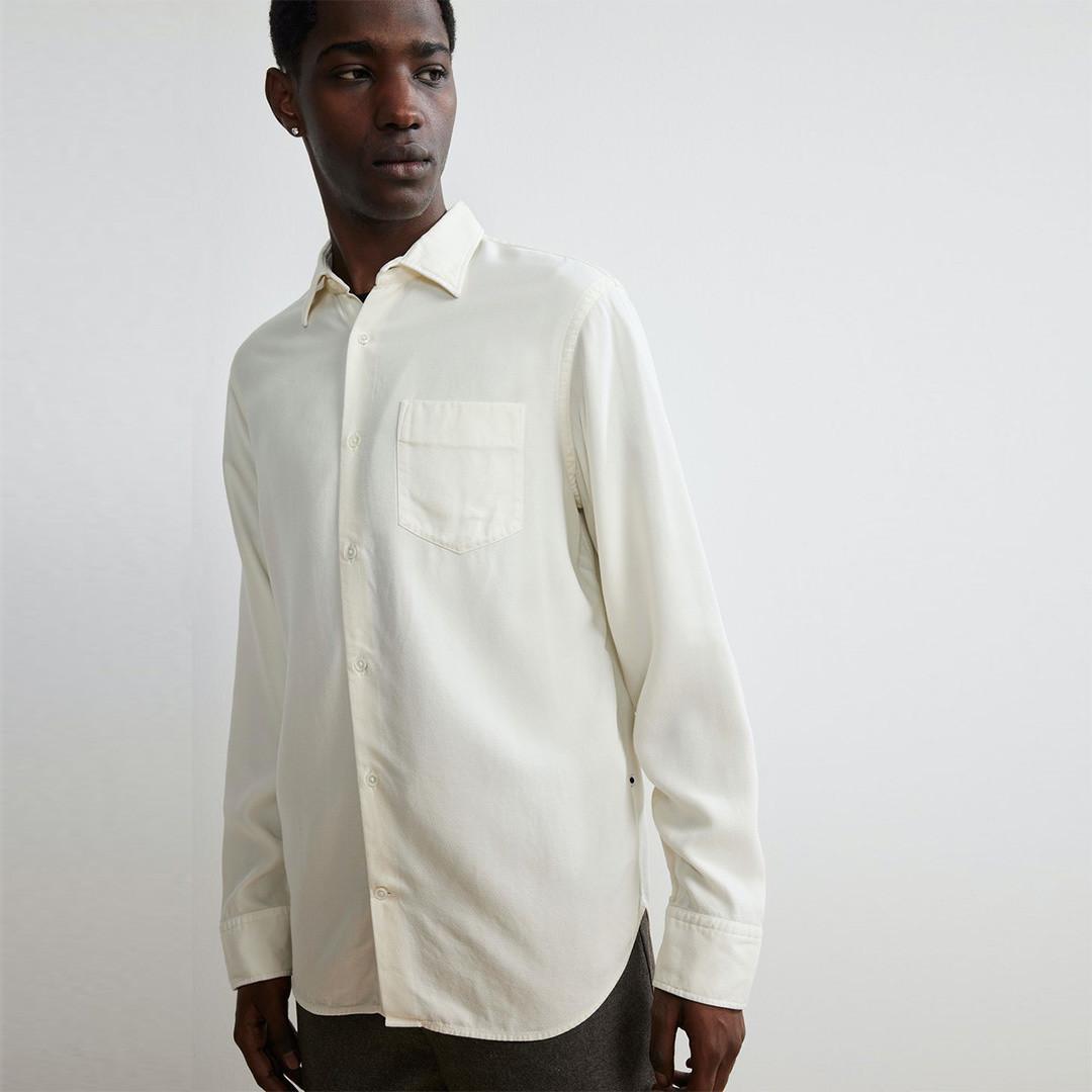 nn07 errico 5408 shirt - off white