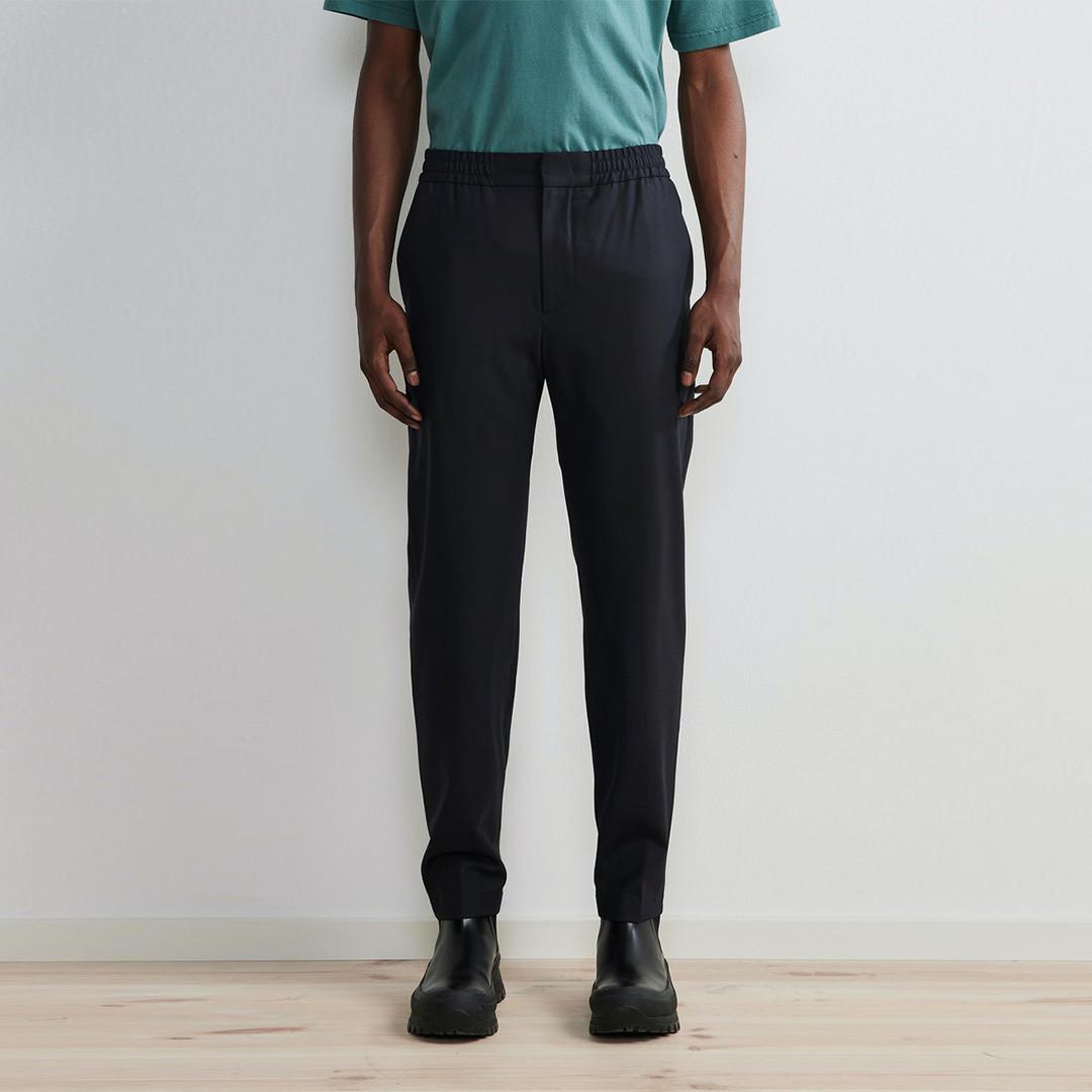 nn07 foss 1228 pants - navy blue