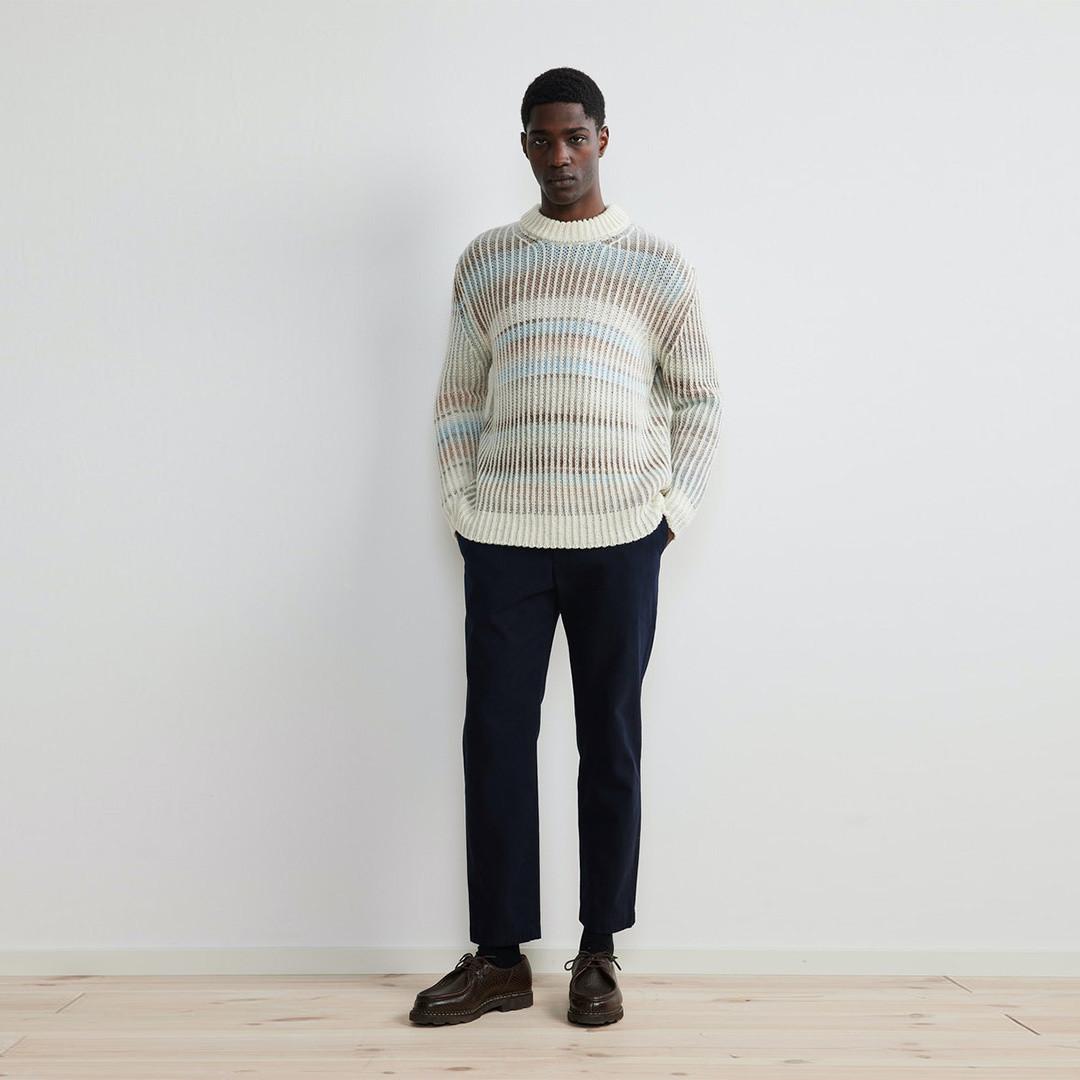 nn07 jason 6468 knit - ecru multi