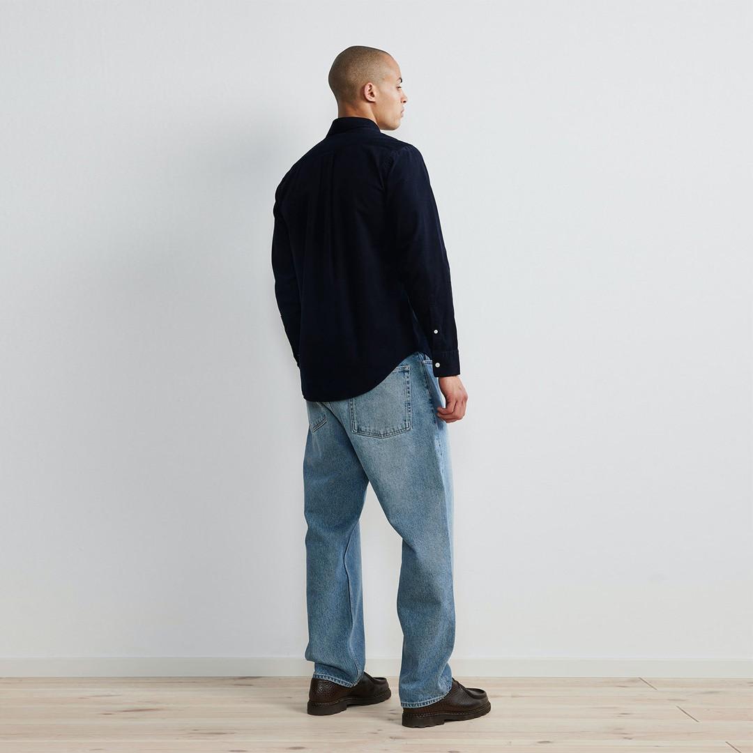 nn07 levon 5723 shirt - navy blue