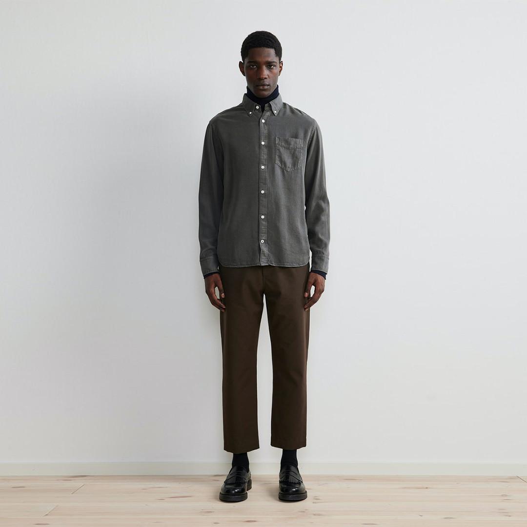 nn07 levon 5969 shirt - concrete