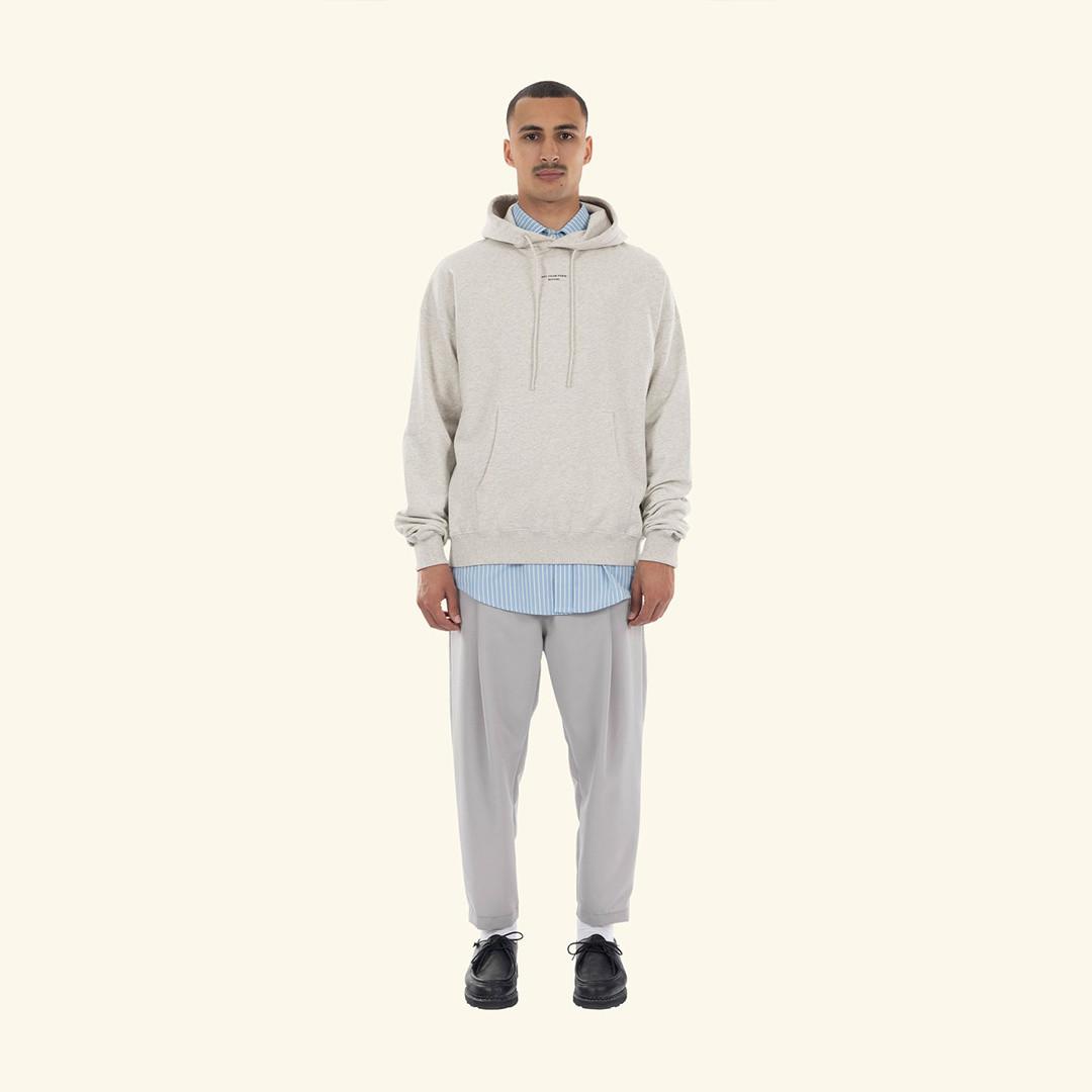 drôle de monsieur le pantalon signature - grey