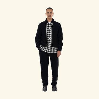 drôle de monsieur la chemise galon jacket - black