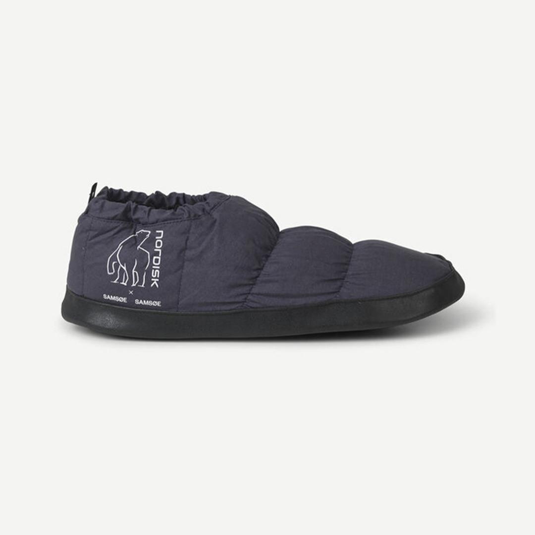 samsoe samsoe nordisk hermod down slippers - india ink
