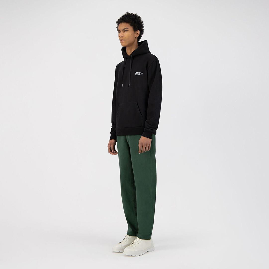 arte hankar hoodie - black
