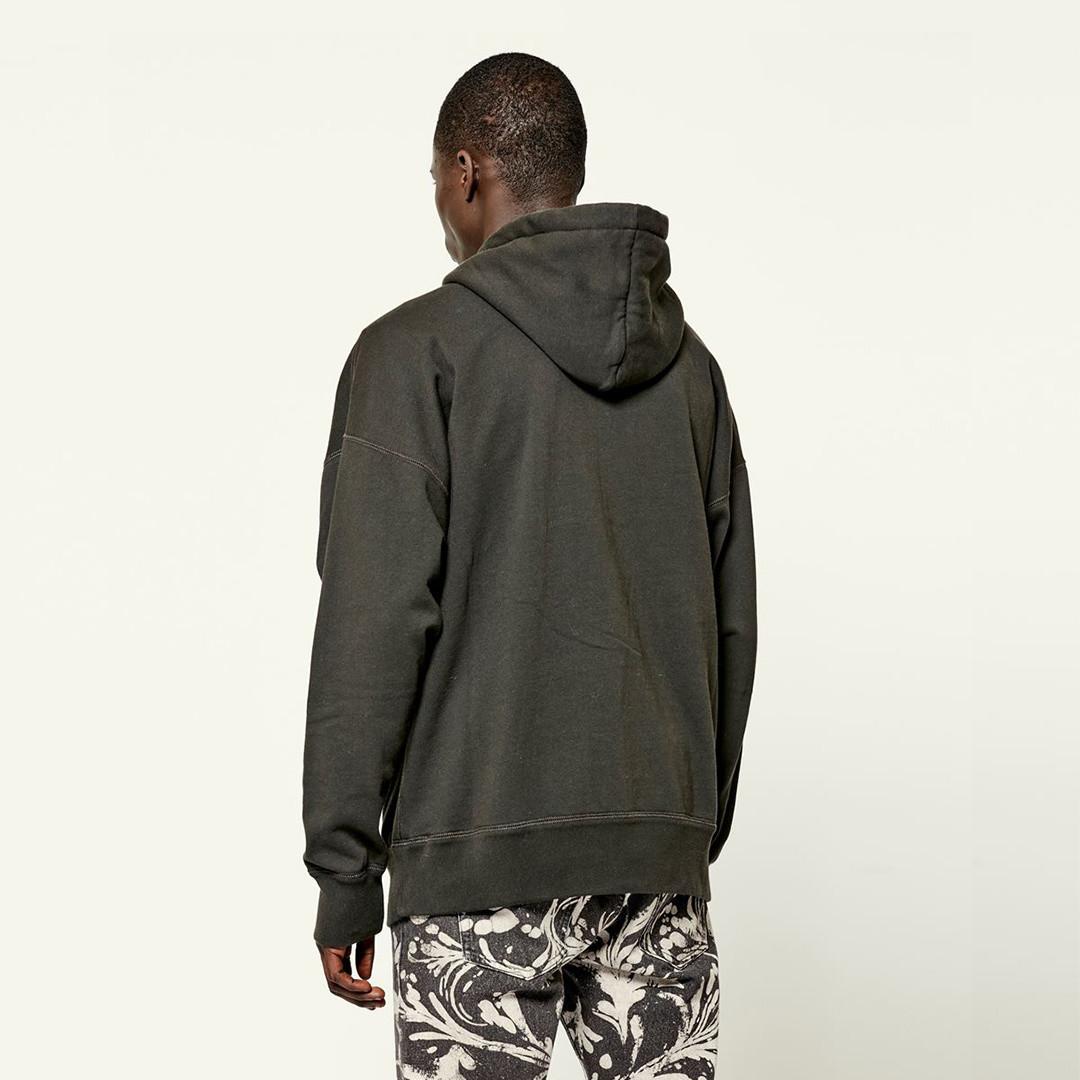 isabel marant miley hoodie - faded black