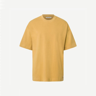 samsoe samsoe hjalmer 11725 tee - mustard gold