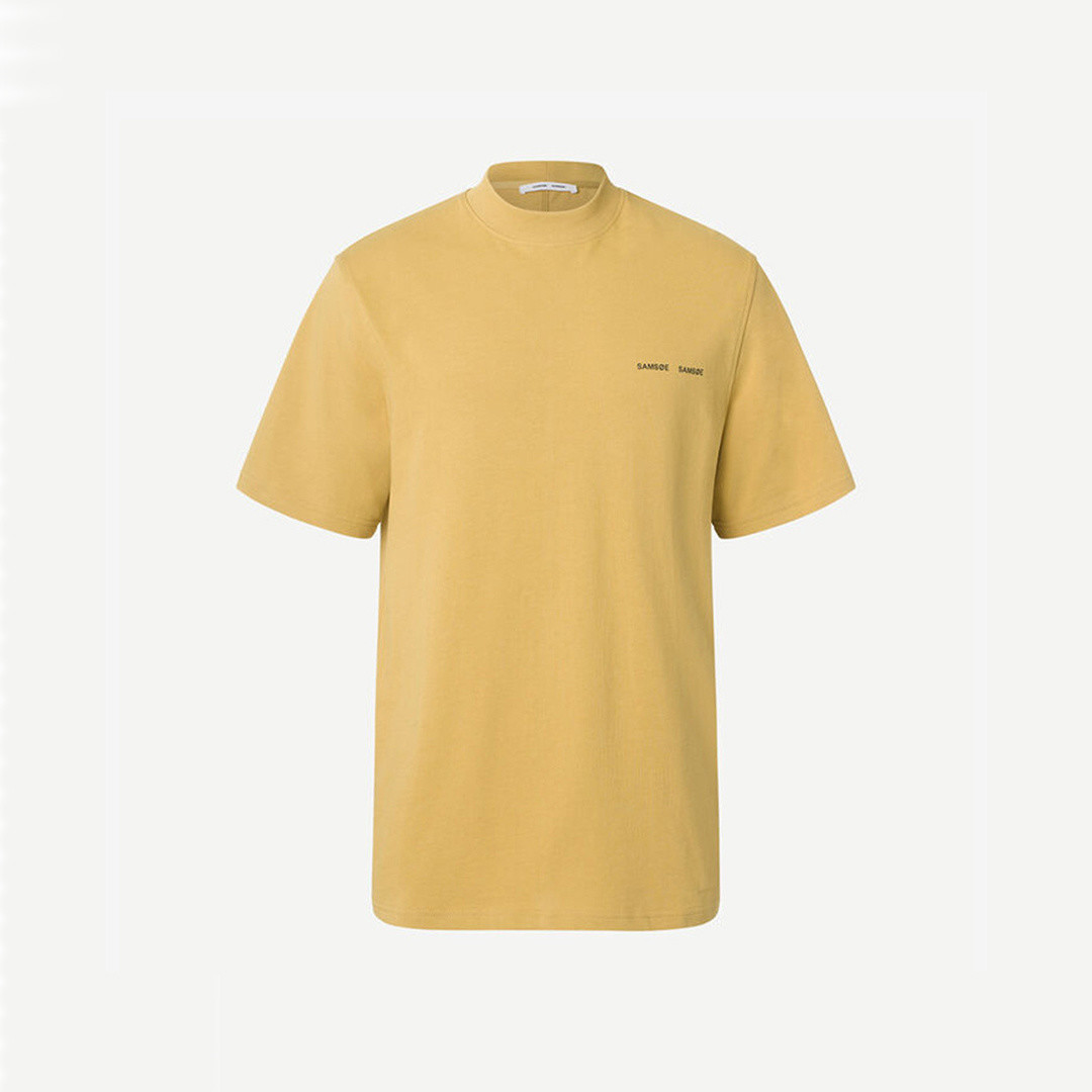 samsoe samsoe norsbro 6024 tee - mustard gold