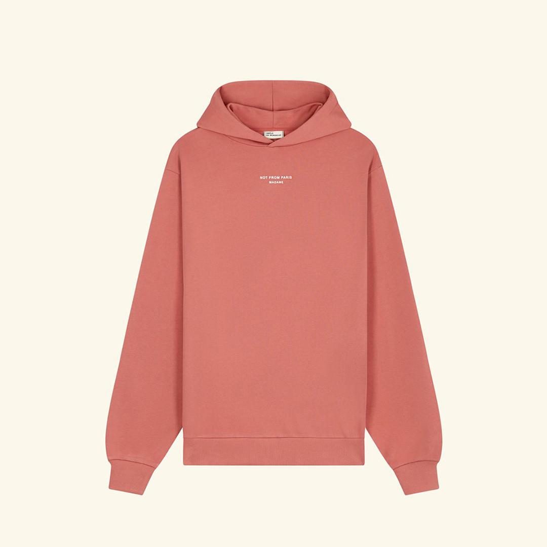 drôle de monsieur le hoodie classique - scarlet