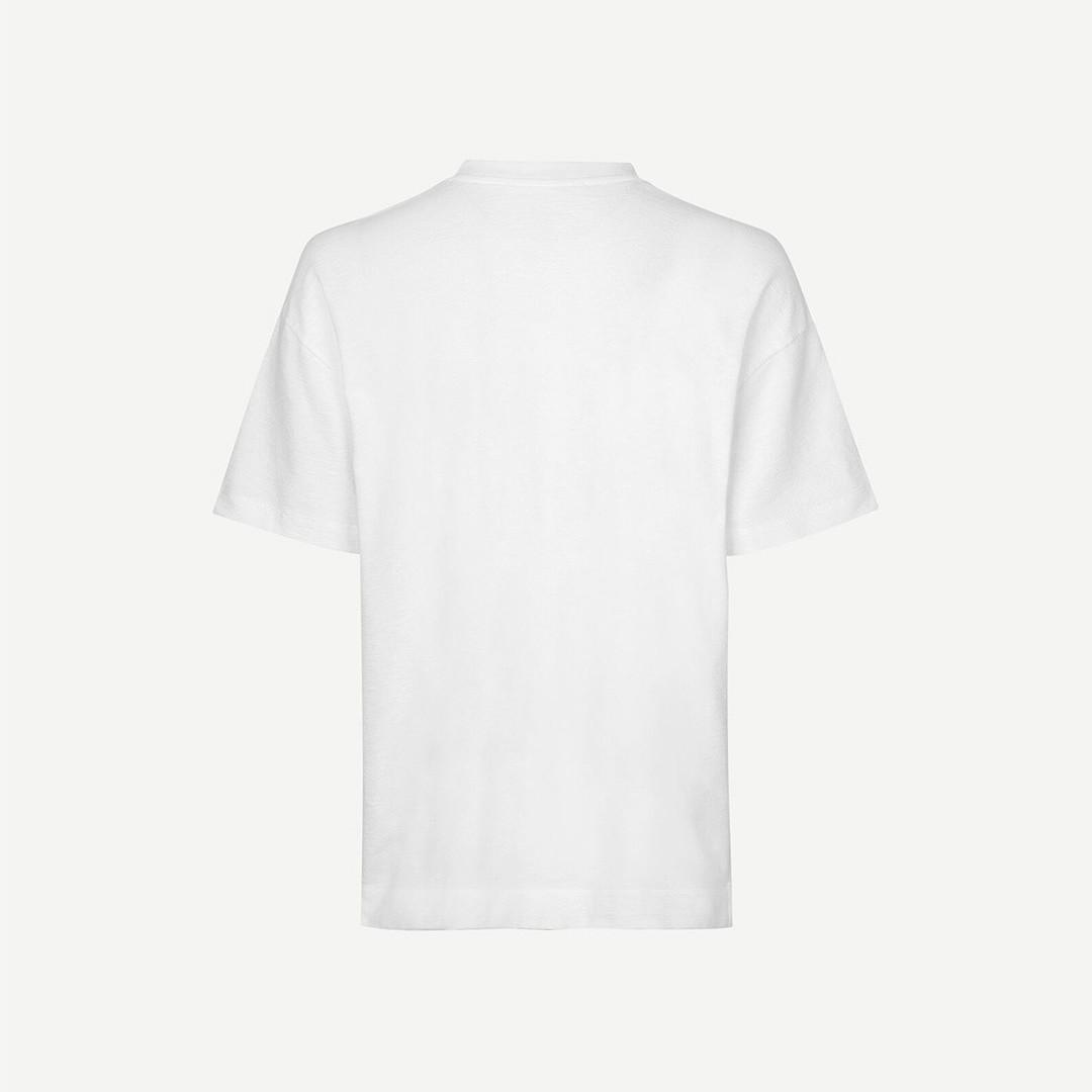 samsoe samsoe ratano 11411 tshirt - white