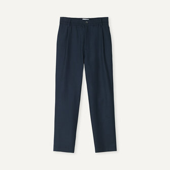 libertine libertine smoke pants 2029 - dark navy