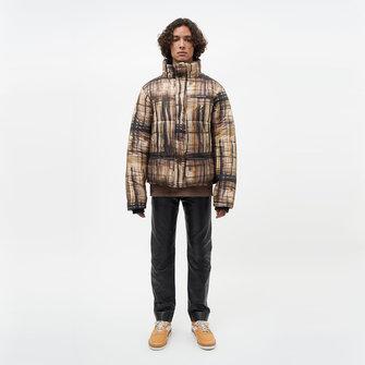 filling pieces aw21 puffer jacket - print camo