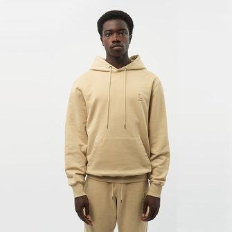 filling pieces lux hoodie - pale khaki