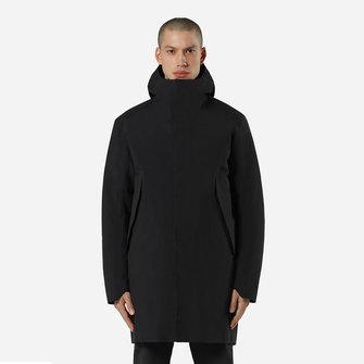 veilance monitor down coat - black