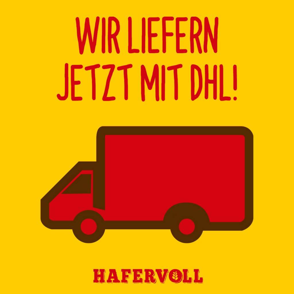 Versandwechsel: Wir liefern jetzt mit DHL