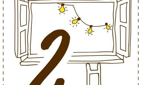 Gewinnspiel: Türchen 2 hat sich geöffnet...