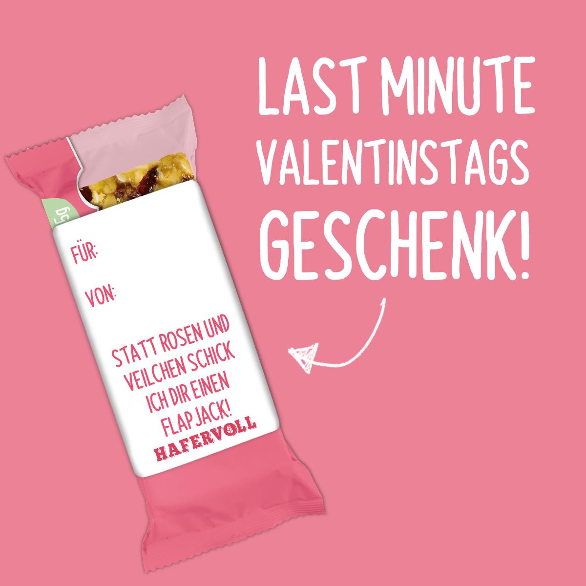 Last minute Valentinstags-Geschenk gesucht?