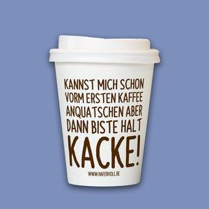 HAFERVOLL Kaffeebecher To Go