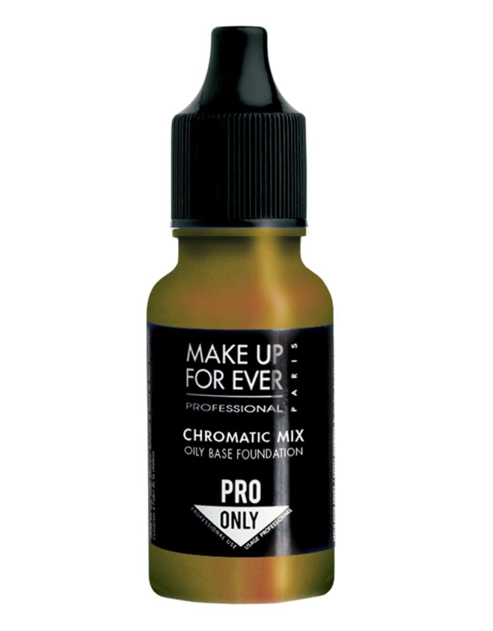 MUFE CHROMATIC MIX 13ML (Base Oil) #12 Jaune / Yellow