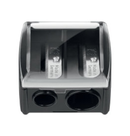 MUFE TAILLE-CRAYON DOUBLE EMBOUT / DOUBLE BARREL PENCIL SHARPENER