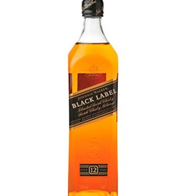 Johnnie Walker Black Label 12Y, Whisky, 40%, 1000ml