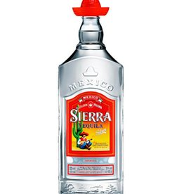 Sierra tequila silver, Tequila, 38%, 1000ml
