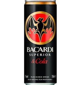 Bacardi cola blik , Mixed drink, 7%, 250ml