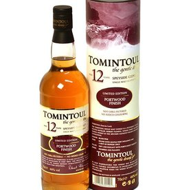 Tomintoul Oloroso Cask 12 y, Whisky, 40%, 700ml