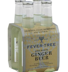 Fever Tree Ginger Beer, Frisdrank, 4x200ml