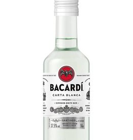 Bacardi Carta Blanca mini, Rum, 40%, 50ml